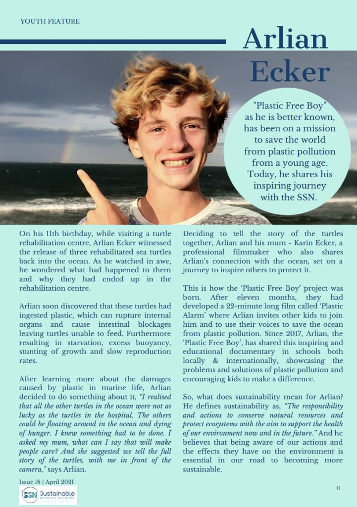 Sustainable Schools Network Newsletter