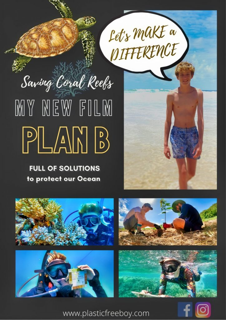 Plan B - Full of Solutions new poster ai