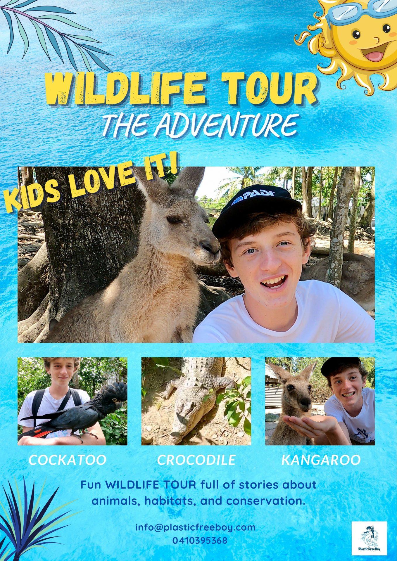 online wildlife adventure tour